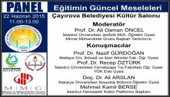 Türkiyenin Sorunları: Eğitimin Güncel Meseleleri Paneline Davet